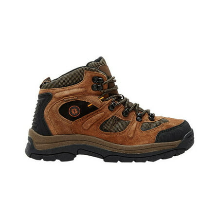 nevados men's klondike mid waterproof hiker-m, earth brown/black/tigerlily orange, 7 m covid 19 (Orange Leather Footwear coronavirus)