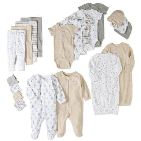 Garanimals Newborn Baby Boy or Girl Unisex 20 Piece Layette Baby Shower Gift Set