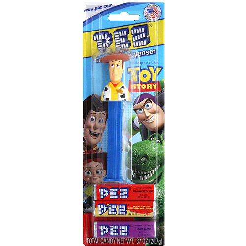 PEZ Toy Story Candy & Dispenser, 0.87 oz (Pack of 6)