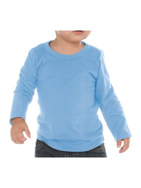 Kavio IJC0455 Infants Crew Neck Long Sleeve-Blue-18M