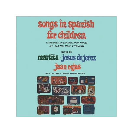 Songs In Spanish For Children (CD)](Big Kids Halloween Songs)