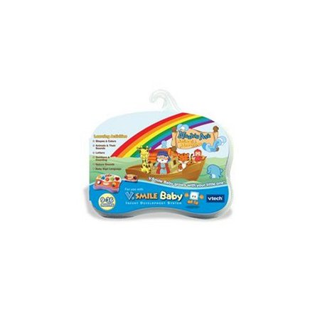 Vtech V Smile Pocket (- V.Smile Baby - Noah's Ark Animal Adventure, Your little one will be in a sea full of early learning with Noah's Ark Animal Adventures By VTech)