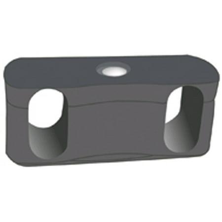 Ofm Ganging Bracket - OFM Ganging Bracket for Rico Series Stack Chair Models 306 and 309, Dark Gray