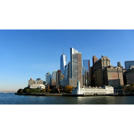 Laminated Poster Manhattan Downtown NYC New York City USA Poster Print 11 x 17](Dream Downtown Nyc Halloween)