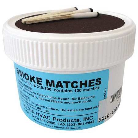 Regin S210 100 Smoke Matches  Pk 100