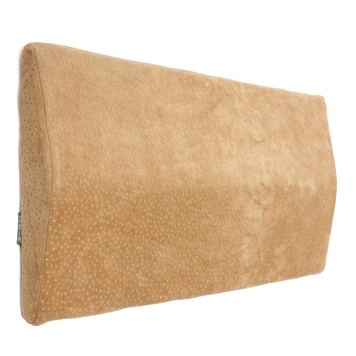 1 Pcs Lumbar Pillow Memory Foam Sleeping Waist Back Support Pad Pain Relief Cushion