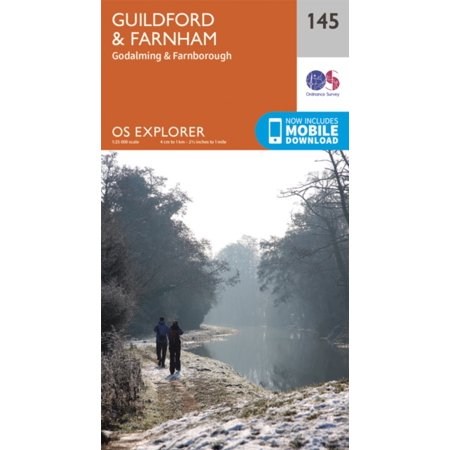 OS Explorer Map (145) Guildford and Farnham (Map)