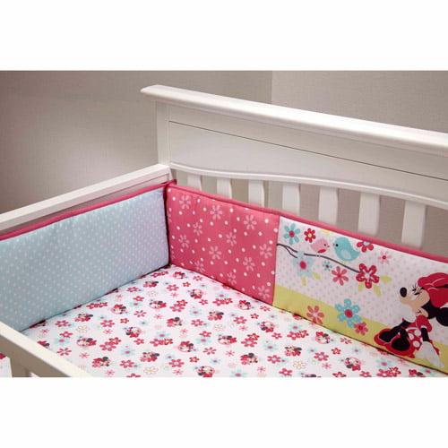 Disney Baby Bedding Sweet Minnie Mouse Crib Bumper
