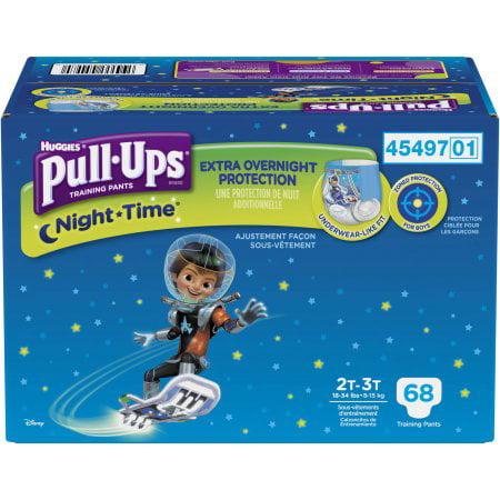 Huggies Pull-Ups NightTime Training (Pack of 2)