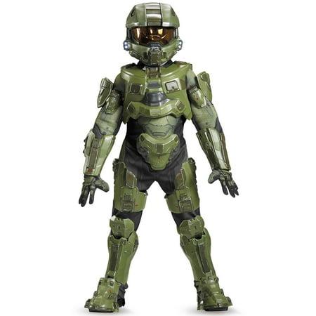 Halo Master Chief Ultra Prestige Costume for Kids