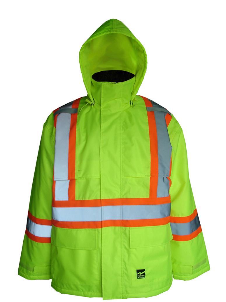 Big Men's Hi-Vis Insulated 150D Jacket