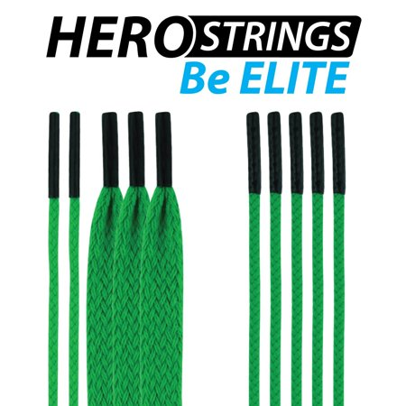 (1-Pack) Lacrosse HeroStrings Pro Stringing Kit Kelly Green HM-Strings-KlyGrn-1P By East Coast Dyes Ship from