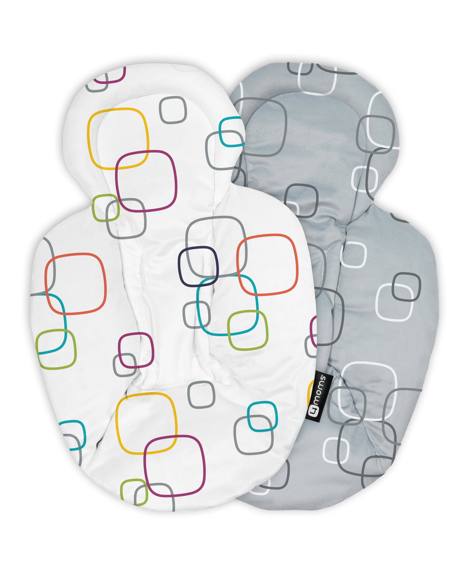 Infant Insert Compatible with 4Moms Mamaroo /& Rockaroo Rockaroo /& Mamaroo Newborn Insert Car Seat Insert 2 Pack Soft Plush Minky Car Seat Head Support Insert Reversible Infant Car Seat Insert