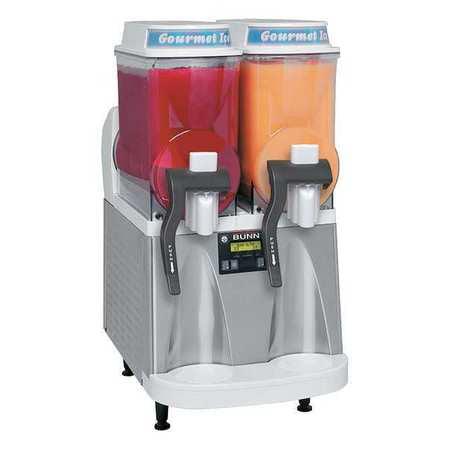 BUNN ULTRA 2 WHT Frozen Beverage Dispenser,White Bunn Stainless Steel Beverage Dispenser