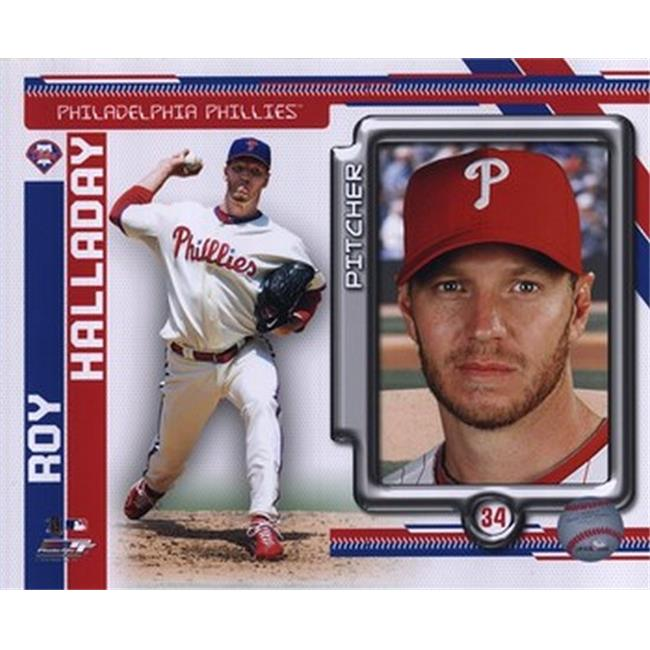 Roy Halladay 2010 Studio Plus Sports Photo - 10 x 8 - image 1 of 1