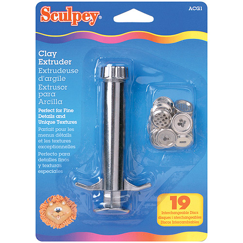 Polyform Sculpey Clay Extruder Multi-Colored
