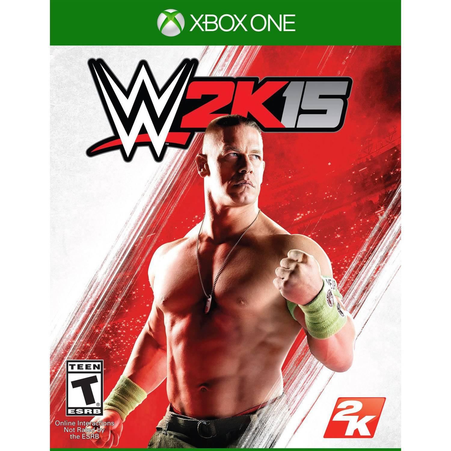 WWE 2K15 (Xbox One) Take Two, 710425494307