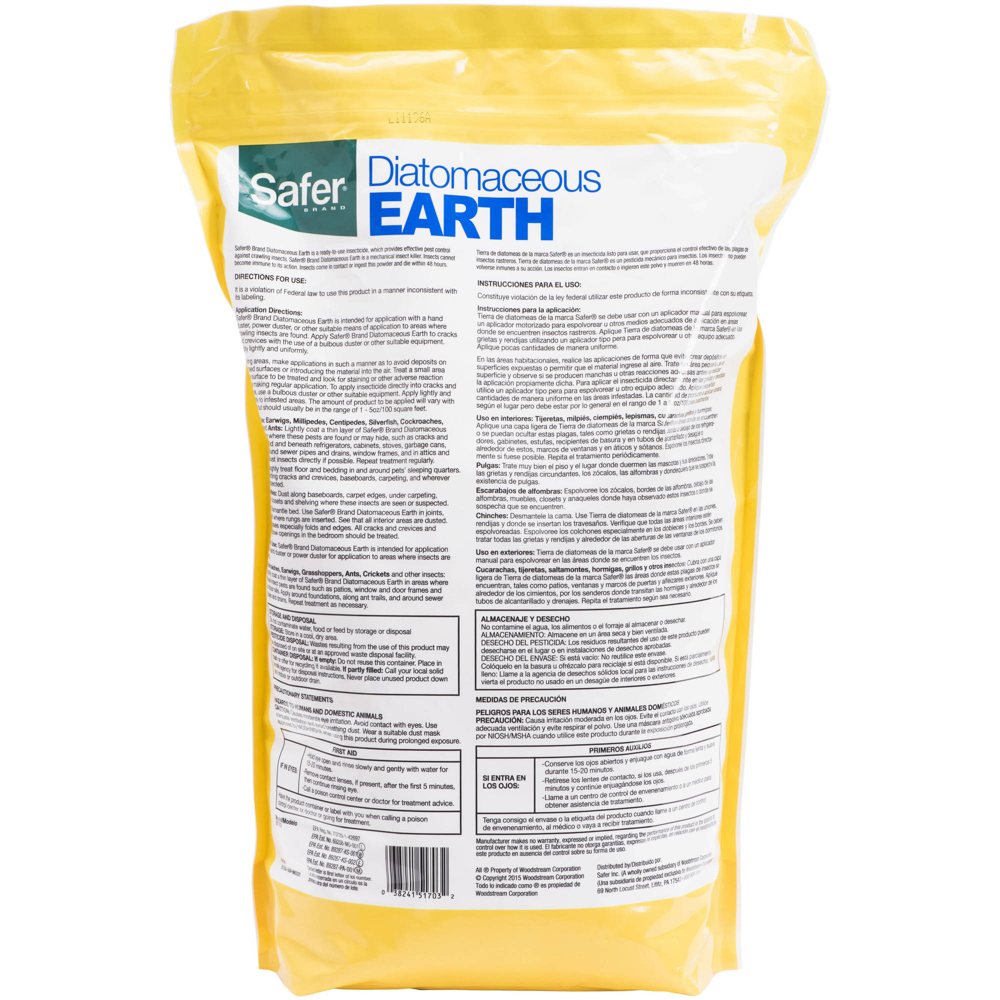 earth kills diatomaceous crawling thumb and eaton bed bugs p jt insects powder bedbugs