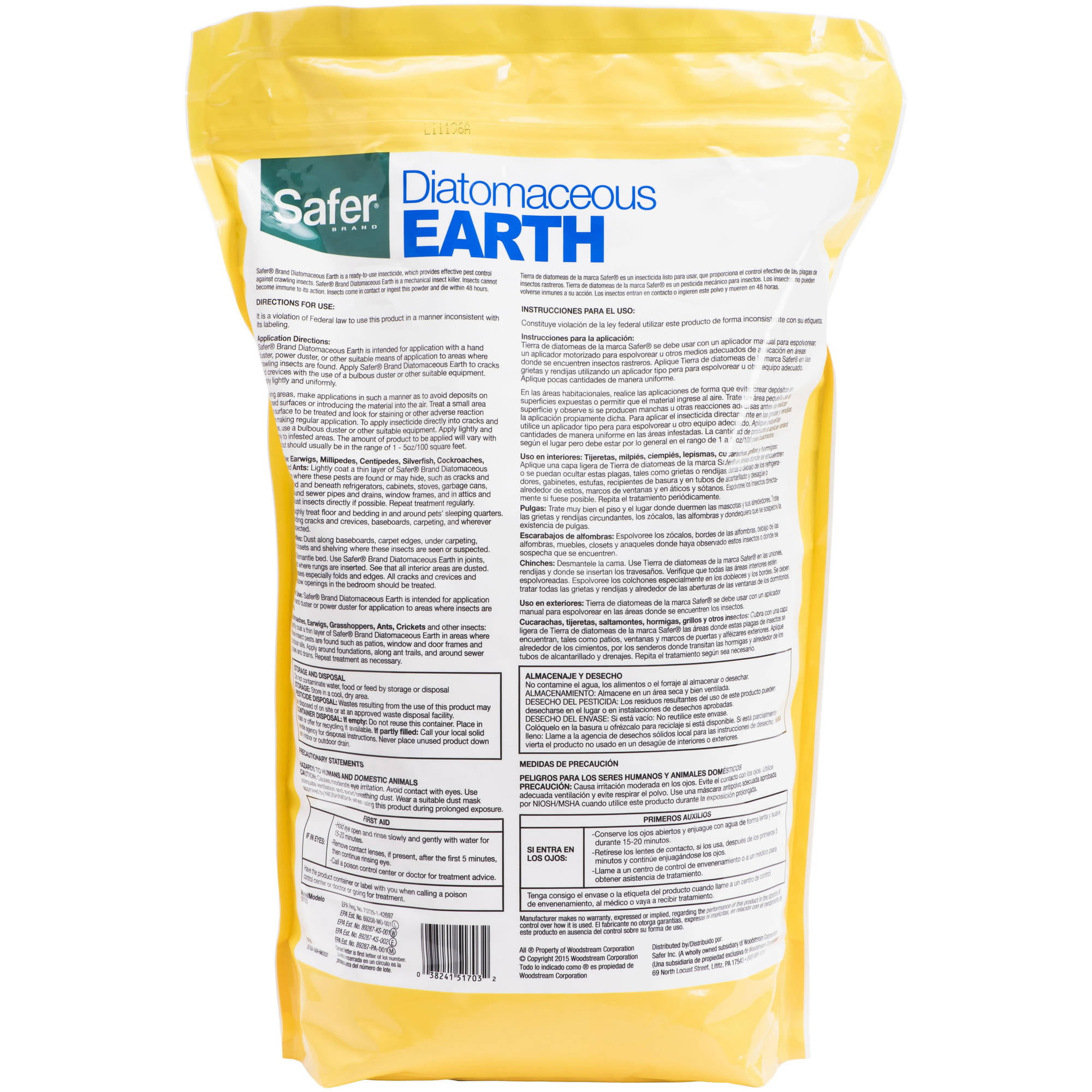 bugs earth hydro insect kill shop gardening supply king diatomaceous bed indoor
