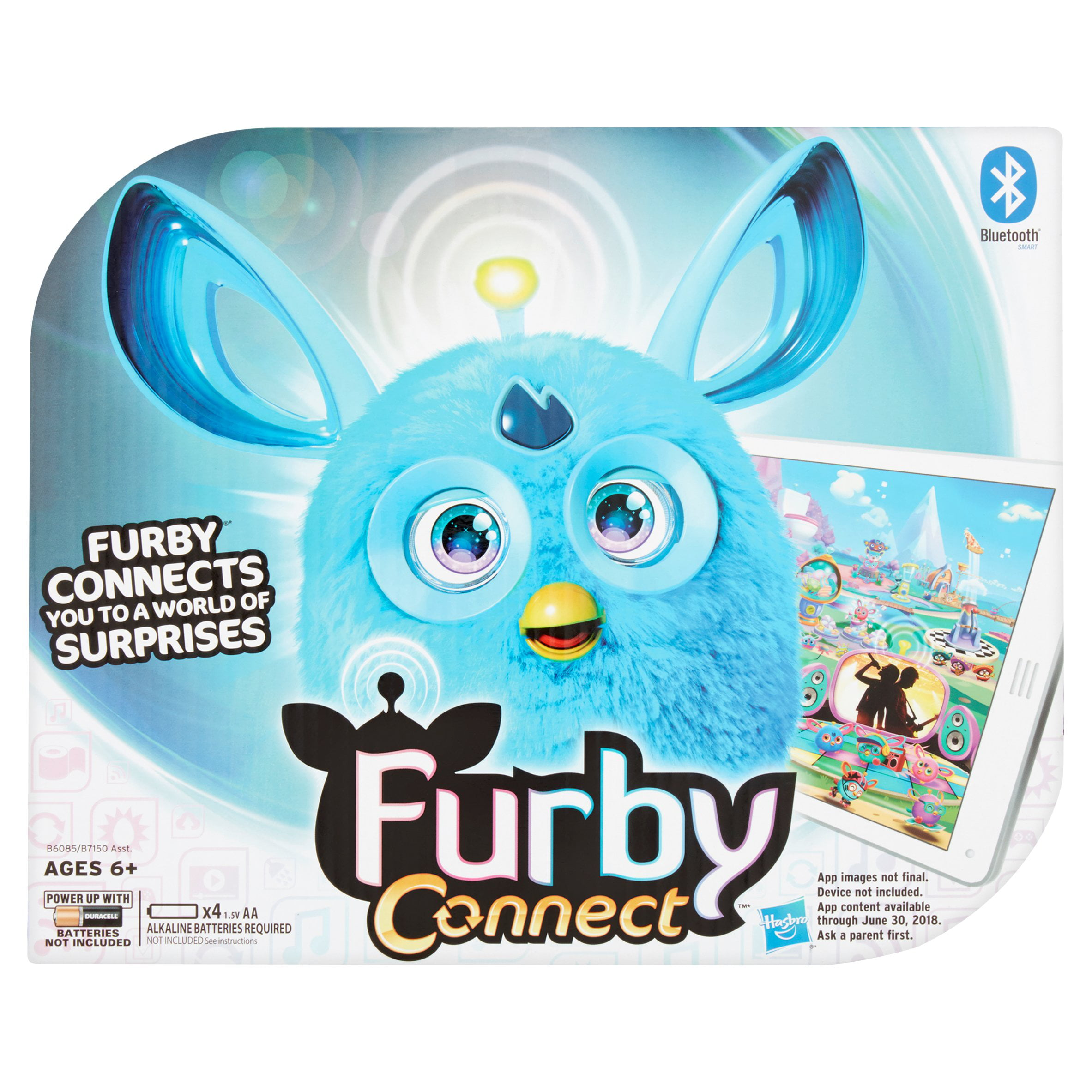 Hasbro Furby Connect Blue Toy Ages 6+ by Hasbro