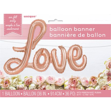 Rose Balloon (Foil