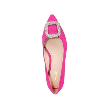 Aldo Womens Umireni Leather Pointed Toe Ballet Flats (Aldo Ballet Flats Women)