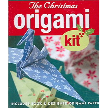 Petite Plus Kit: Christmas Origami Kit (Origami Paper) (Other)](Paper Christmas Crafts)