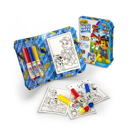 Crayola Color Wonder Paw Patrol Mess Free Coloring Kit, 18 Pieces