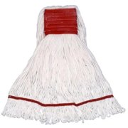 EmscoGroup 6510 Small 4-Ply Looped End Cotton Mop With Band