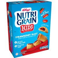 Kellogg's Nutri-Grain Kids, Soft Baked Mini Bars, Strawberry Blast, 10 Ct, 13 Oz