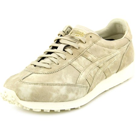 timeless design a0781 3d0a0 Onitsuka Tiger EDR 78 Mens Beige Leather Lace Up Sneakers Shoes