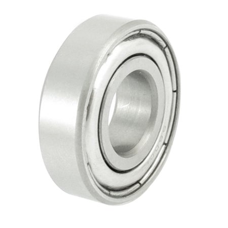 Unique Bargains Stainless Steel 28mm x 12mm x 8mm Sealed Deep Groove Ball Bearing