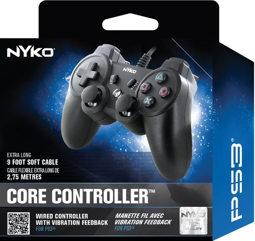 Nyko Core Controller: Assorted Colors for PlayStation 3