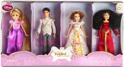 Disney Tangled Ever After Doll Set by