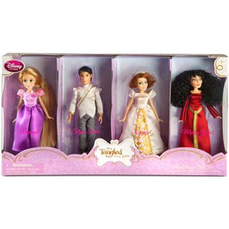 Disney Tangled Ever After Doll Set