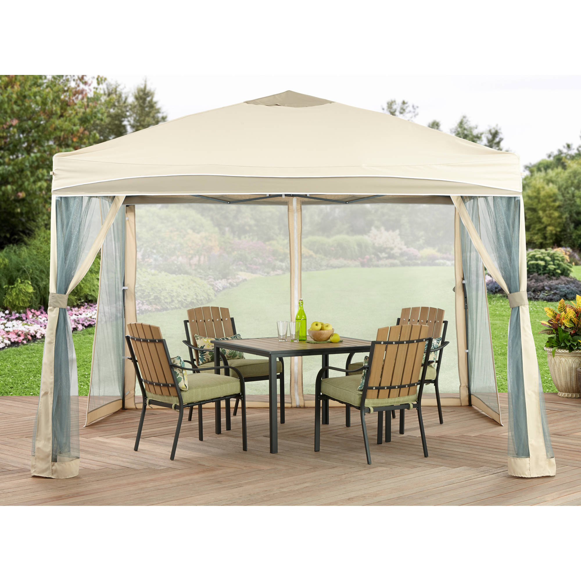 better homes and gardens lawrence portable patio gazebo