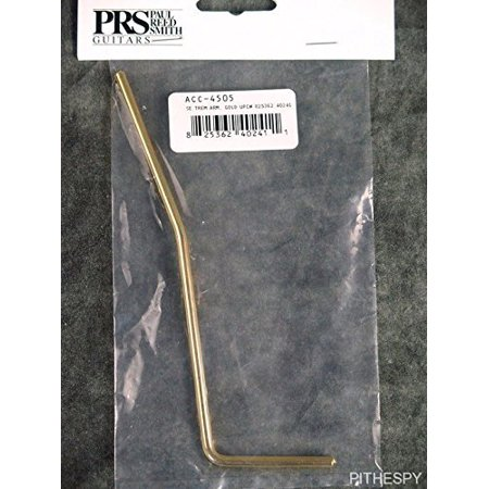 PRS SE S2 Guitar Tremolo Arm Bar - Gold, Genuine PRS SE S2 Tremolo Arm By Paul Reed Smith (Paul Reed Smith Decal)