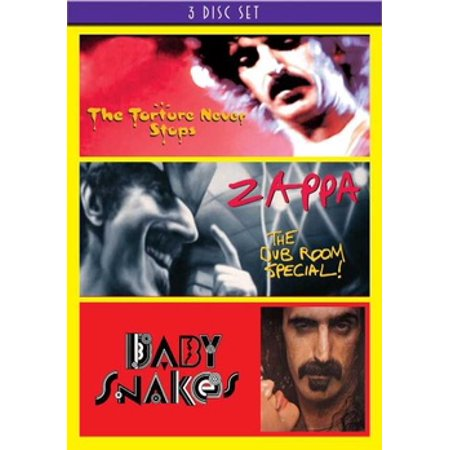 ZAPPA F-BABY SNAKES/DUB ROOM SPECIAL/TORTURE NEVER STOPS (DVD/3 DISC) (DVD) - Frank Zappa Halloween Dvd