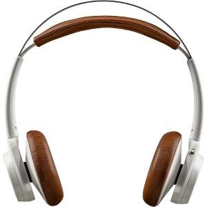 Plantronics BackBeat SENSE Wireless OTH Headphones+Mic Stereo Tan/White