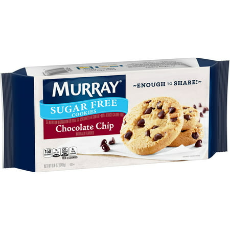 Murray Sugar-Free Chocolate Chip Cookies 8.8 oz Tray