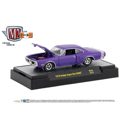 M2 Machines 1:64 Detroit Muscle Release 43 1970 Dodge Super Bee Hemi