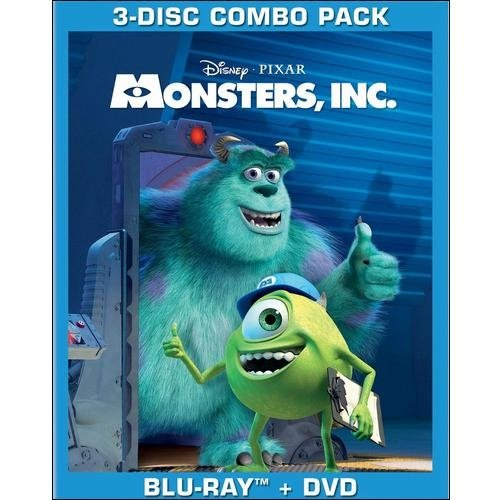 Monsters, Inc. (Blu-ray + DVD) (Widescreen)