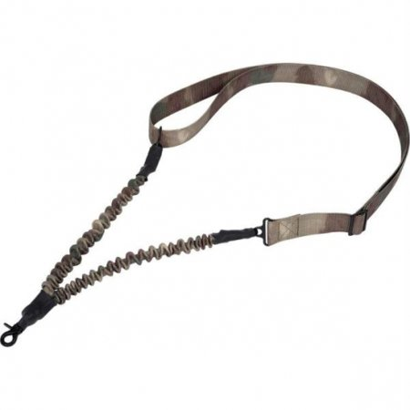 Classic Safari Single Point Rifle Sling With Shock Cord