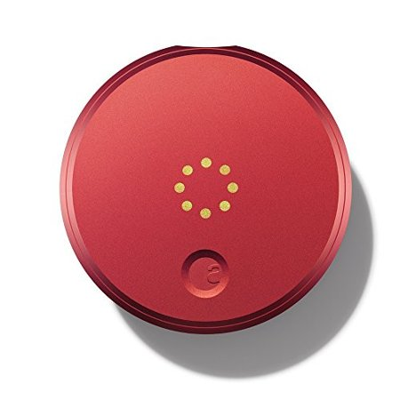 August Smart Lock - Keyless Home Entry with Your Smartphone, Red