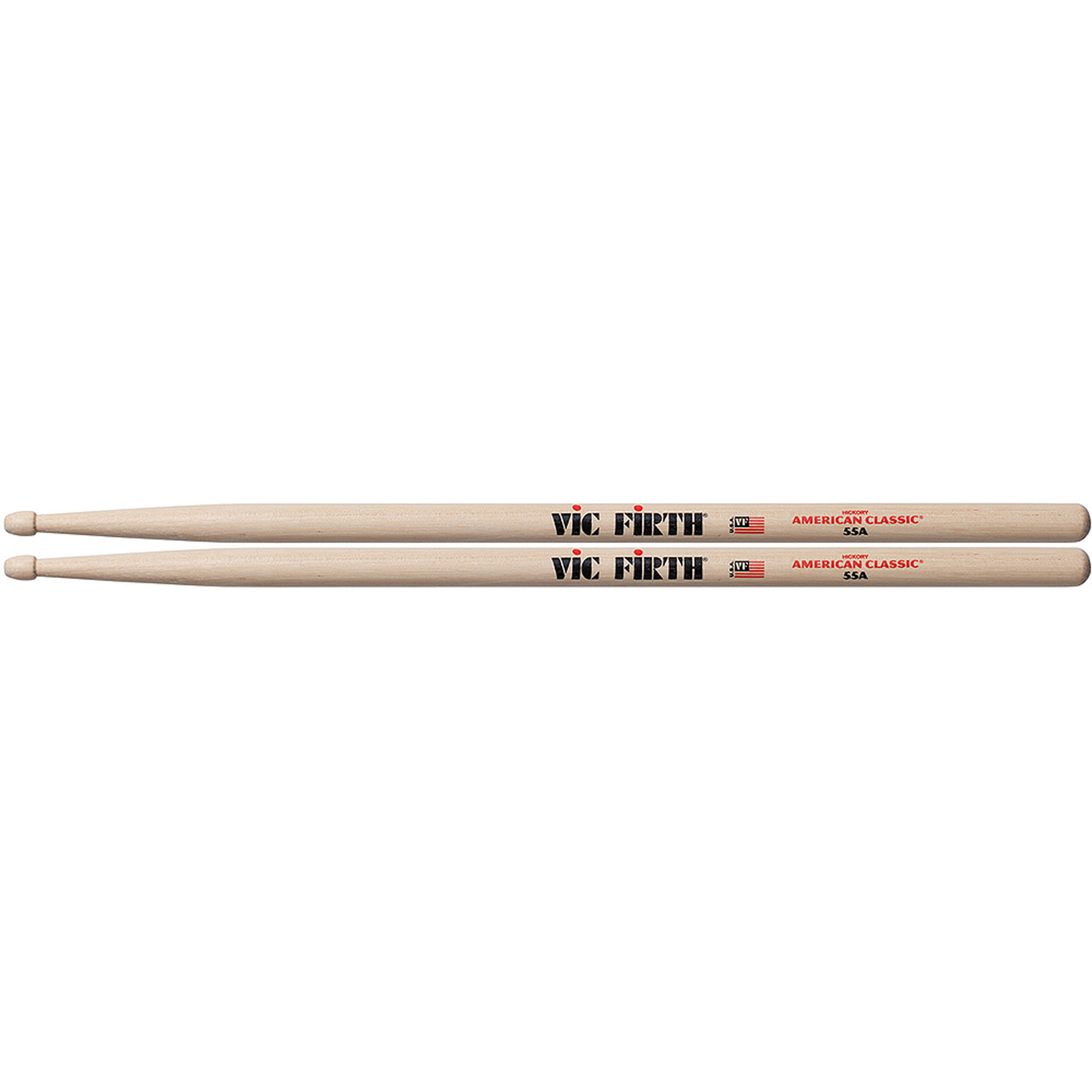 Vic Firth American Classic 55A Wood Tip Hickory Drumsticks by Vic Firth