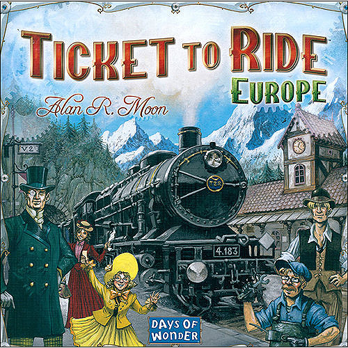 Days of Wonder Ticket to Ride Board Game - Europe DOW7202