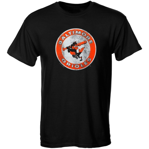 Baltimore Orioles Youth Cooperstown T-Shirt - Black