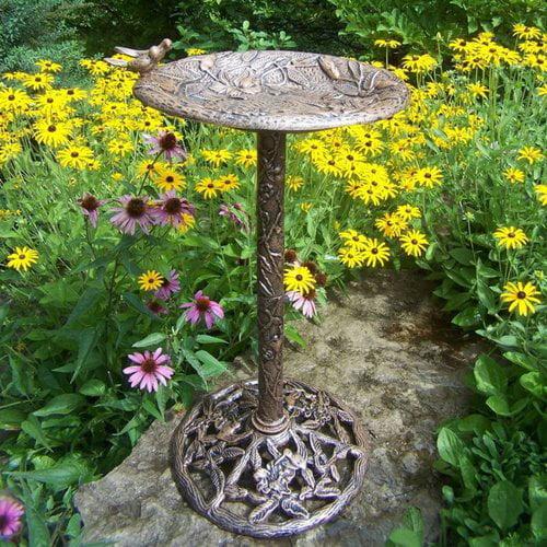 5131-A Hummingbird Birdbath by Oakland Living