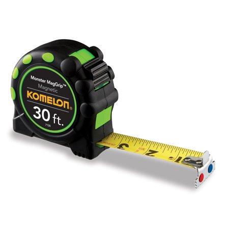 Komelon 7130 30Ft Monster Magnetic Tape Measure