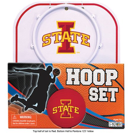 State Licensed Sports Metal (Officially Licensed NCAA Iowa State Hoop Set )